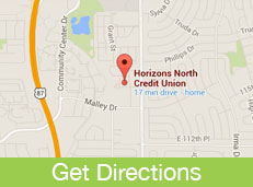 Map and directions Link to Horizon North Credit Union